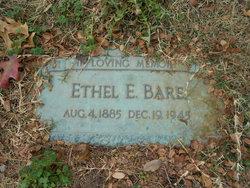 Ethel E. Bare