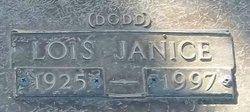Lois Janice <i>Dodd</i> Collier