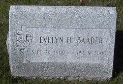 Evelyn Helen <i>Cassel</i> Baader
