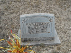 Ruby Lee <i>Anderson</i> Robertson