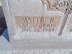 Mattie R Turner