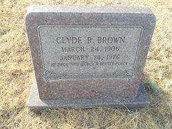 Clyde Rufus Brown