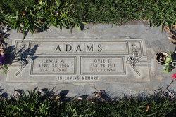 Ovie T. <i>Davis</i> Adams