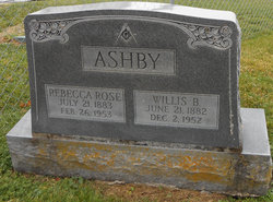 Rebecca Rose <i>Burgin</i> Ashby