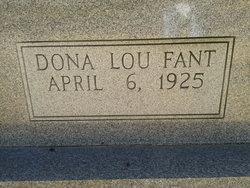 Dona Lou <i>Fant</i> Gilliland