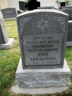Ann Abramson