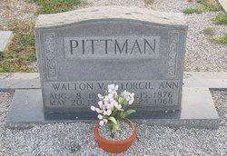 Walton V Pittman