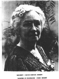 Margaret Louise Maggie <i>Burnett</i> Simpson