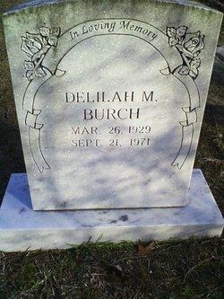 Delilah <i>McQueen</i> Burch