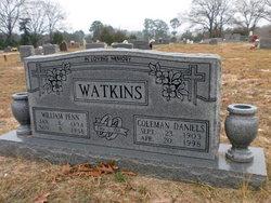Coleman <i>Daniels</i> Watkins