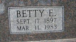 Betty E. Waller