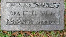 Ora Ethel Waller