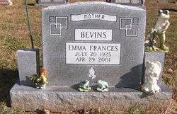 Emma Frances Bevins