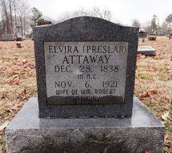 Elvira <i>Preslar</i> Attaway