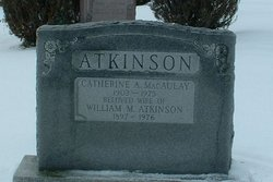 Catherine A. <i>MacAulay</i> Atkinson
