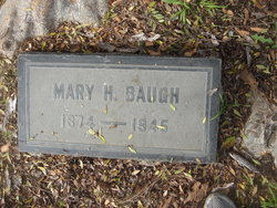 Mary <i>Harrison</i> Baugh