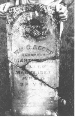 Pvt William Gordon Acord