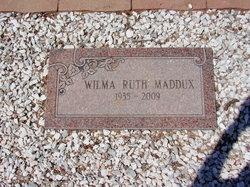 Wilma Ruth Maddux