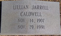 Lillian <i>Jarrell</i> Caldwell