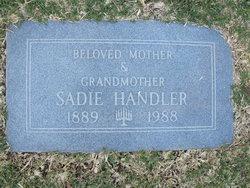Sadie <i>Herskovitz</i> Handler