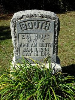 Eva <i>Hicks</i> Booth