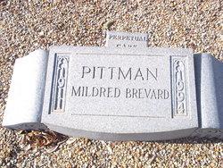 Mildred <i>Brevard</i> Pittman