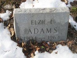 Elzie L Adams