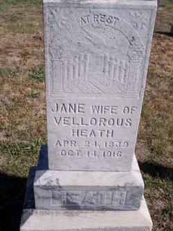 Jane <i>McMullen</i> Heath