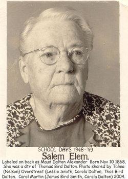Maude <i>Dalton</i> Alexander