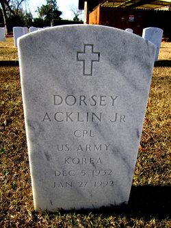 Dorsey Acklin, Jr