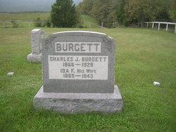 Ida Florence <i>Wolf</i> Burgett