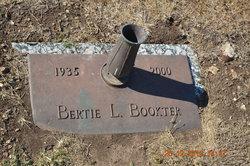 Bertie Faye <i>Lee</i> Bookter