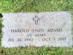 Harold Enos Adams