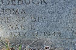 Pvt Dan E. Roebuck