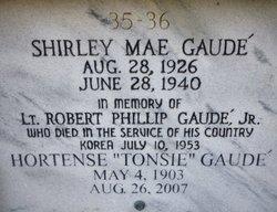 Hortense Tonsie <i>Lapeyrouse</i> Gaudet