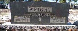 Artie Lea <i>Harris</i> Wright