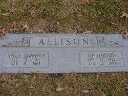 Nellie <i>Lawrence</i> Allison