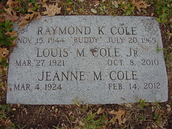 Jeanne <i>Moore</i> Cole