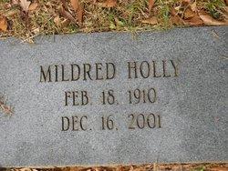 Mildred Rawlins <i>McGee</i> Holly