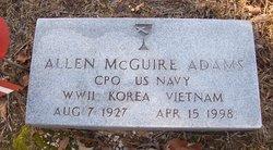 Allen McGuire Adams
