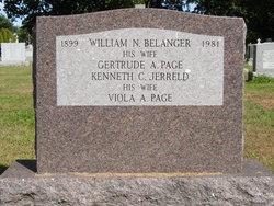 Gertrude Agnes <i>Page</i> Belanger