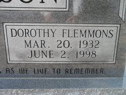 Dorothy <i>Flemmons</i> Williamson