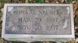 Edna J Neubert