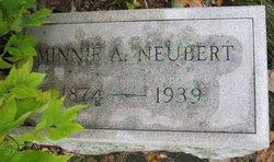 Minnie A Neubert