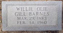 Willie Olie <i>Gill</i> Barnes