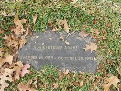Ada Gertrude Adams