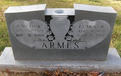 Clara Belle <i>Russell</i> Armes