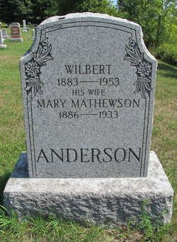 Mary <i>Mathewson</i> Anderson
