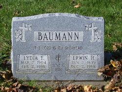 Lydia Emma <i>Steinke</i> Baumann