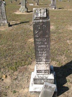 Martha Emaline <i>Hartley</i> Johnson